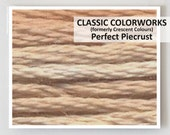 PERFECT PIECRUST : Classic Colorworks hand-dyed embroidery floss cross stitch thread at thecottageneedle.com