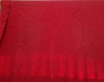 """Vintage Pendleton CAYUSE """"Indian"""" Red Wool Blanket AUTHENTIC Made in USA."""