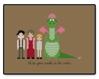 Pete's Dragon - Cross Stitch PDF Pattern