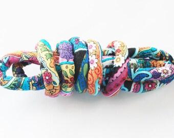 Fabric cord, Textile cord, Fabric jewelry, Textile jewelry, Fabric necklace, Textile necklace, Diy jewelry, Craft cord, Jewelry cord mc4