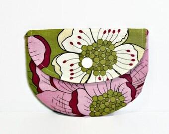 Secret Garden Wallflowers Pacifier Pouch, Pacifier Pouch, Pacifier Holder, Coin Purse, Small Wallet, Card Holder, Small Wallet, Binky Pouch