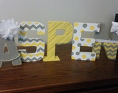 Handpainted Names - Any Color Combination - Up to 5 letters