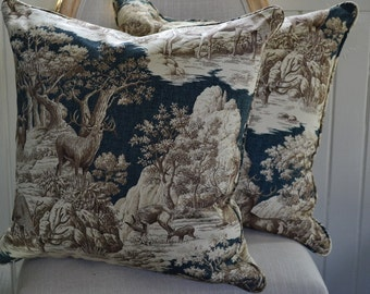 """Pillow Cover Home Decor 20"""" x 20"""" in the Classic and Elegant Highland Collection"""