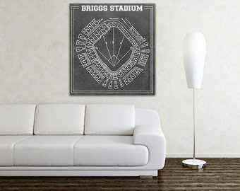 Print of Astrodome Vintage Blueprint Photo Paper by ClavinInc