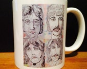Beatle Collage Mug