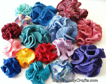CROCHET PATTERN Hyperbolic Coral, PDF File, Free pattern offering