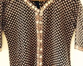 India Dress batik worh mirrors