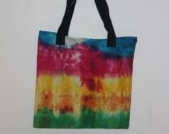 Hippie tie dye shoulder bag