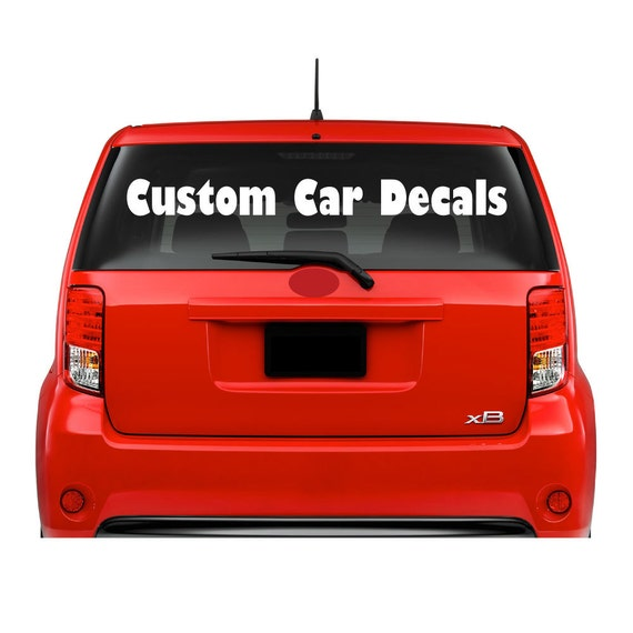 vinyl lettering for cars car window vinyl decals lettering outdoor business logo custom 25435
