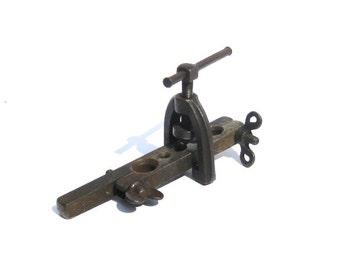 Vintage Industrial Plumbing Tool: Vintage Pipe Flare Tool, Plumber Tool, Heavy Metal
