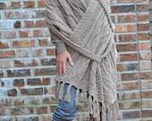 """Knitting pattern for rectangle shawl """"Lorena"""""""