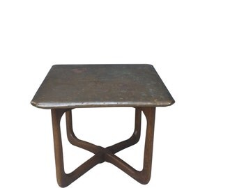Lane Copper Top End Table