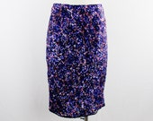 Vintage SAINT LAURENT Ysl  EVENING Sequin Holiday skirt  Fitted pencil Skirt  Size 38 Fabulous Fashion