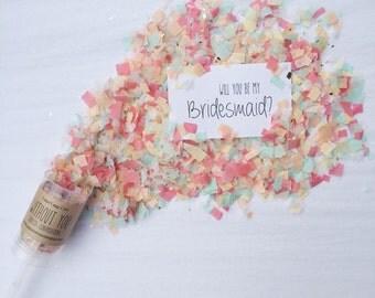 The Original Will You Be My Bridesmaid? Confetti Conversations