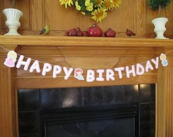Princess Banner - Happy Birthday