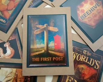 The Worlds End Greeting Cards- The First Post