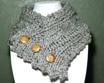 Fisherman's Wife Cabled Neck Warmer