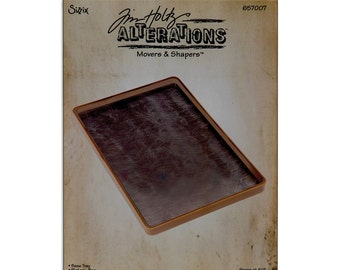 BASE TRAY BigZ L Tray by Tim Holtz Alterations Movers and Shapers - 657007