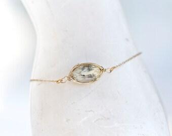 Marble Glass Bracelet - Elegant Boho Bracelet