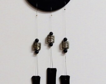 Wind Chime - Abstract from Recycled Glass