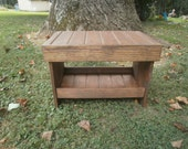 "wooden bench 24"" entry bench/hallway bench/coffee table/benches"