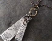 Voila Necklace ~ Boho Series ~ Ginkgo Leaf