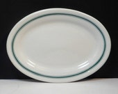 Sale Oval Serving Plate John Maddock & Sons England Restaurant Ware Vintage 1800s