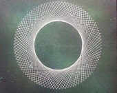 Cosmic Circle 1 Signed and Titled Mounted Print