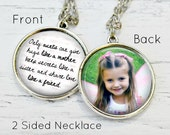 AUNT GIFT - Only an Aunt - Best Aunt Ever - Aunt Necklace - Aunt Niece Jewelry - Gifts for Aunt - I Love My Auntie - Custom Photo Gifts