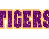 TIGERS-straight-offset - Cut File - Instant Download - SVG Vector JPG for Cameo Silhouette Studio Software & other Cutter Machines