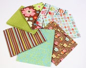 Happy Flappers Fat Quarter Bundle - Set of 7 - by Kelly Panacci and Riley Blake - FQ-4020-21
