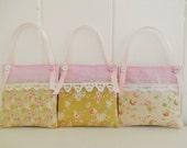 Cottage Chic Set of 3 Lavender sachets/Drawer Sachets