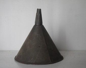 Vintage Metal Funnel