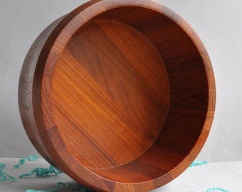 Large Danish Teak Bowl - Kjeni