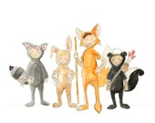 Lost Boys Watercolor