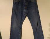 Vintage Levi Jeans 517 Boot Cut Faded Levi's, Vintage Clothing W31 L32 Red Tab Levi's