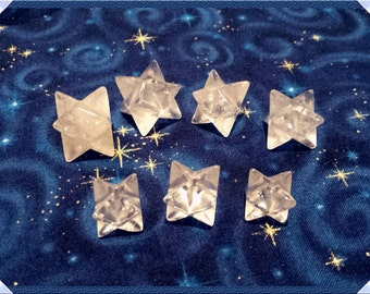 Clear Quartz Merkabas