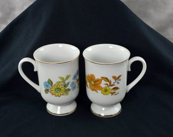 Royal Domino Cups Mugs Autumn Song and Blue Garden