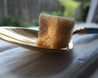 Fair Trade Raw Brown Demerara Sugar Cubes