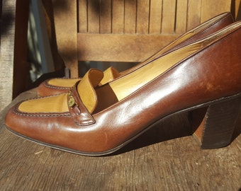 FALL    ///     Leather Heeled Loafers