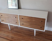 The San Francisco - Paul McCobb Inspired White Chest of Drawers