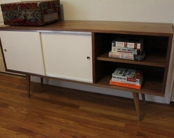 The Berkeley - Mid Century Modern Entertainment Credenza