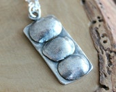 Personalized Fingerprint Necklace Choose Number of Prints - Men's or Woman's Family Necklace