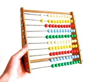 Vintage Mid Century Abacus