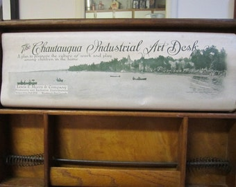 Chautauqua Industrial Arts Desk.