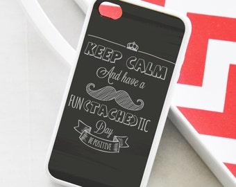 Mustache iPhone Case, Inspirational iPhone Case, Quote iPhone Case, iPhone 6 Case, iPhone 6 Plus Case, iPhone 5s Case