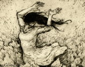 You Know How I Do (Frolic)  - Original Intaglio Print