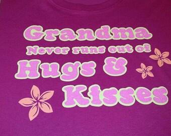 Grandma never runs out of hugs and kisses!