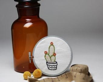 Cactus Handmade Embroidery Wall Art Decor