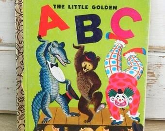 The Little Golden ABC Book - A Little Golden Book - Vintage 1978